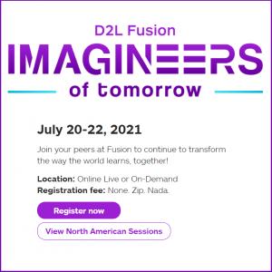 D2L Fusion 2021