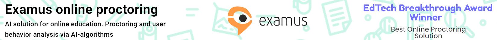 Examus Online Proctoring
